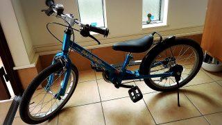 子どもがたった1回で自転車に乗れた!買ってよかった『ラクショーライダー』